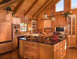 Log cabin interiors designs Rustic Log Cabin Kitchen Design Ideas Log Cabin Kitchens With Decoist Cabin Kitchen Designs Hd Wallpapers Home Design