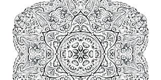 Geometrical Coloring Pages Free Printable Geometric Uring Inspiring