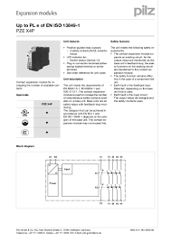 pze x4 p_en how to wire a safety relay at Pilz Safety Relay Wiring Diagram