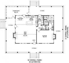 pleasant design open ranch house plans with porches 9 concept floor