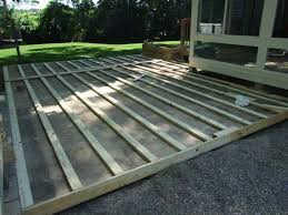 life in rehab guest blogger how to build a deck over patio part 2 pertaining decking plans 18