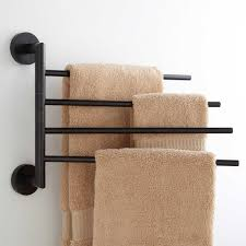 towel bar with towel. Brilliant Towel Colvin Quadruple Swing Arm Towel Bar Throughout With