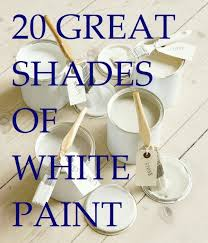 Small Picture 20 Great Shades of White Paint and Some To Avoid