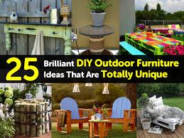 unique outdoor furniture ideas. Unique Outdoor Furniture Ideas O