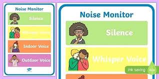 Classroom Noise Level Chart Pinterest Clicktips Info