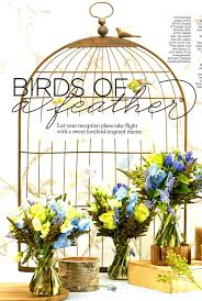 Birdcage Memo Board Inspiration Birdcage Table Plan Memo Board You And Your Wedding Magazine The