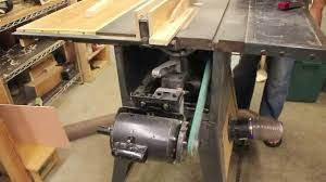 dust collection for old contractor table saws