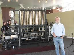 who invented the computer glenn s web site the author posing a recently built analytical engine at the computer history museum