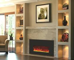 stand with built electric fireplace insert amish made corner wall mount fireplaces mantle design full for