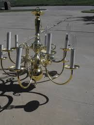 remodelaholic diy brass chandelier makeover
