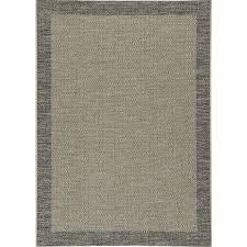 lansing black 5 ft x 7 ft area rug