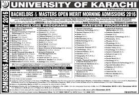 admissions page examinations