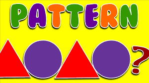 Patterns For Preschool Beauteous LEARN PATTERNS With Shapes Colors Numbers Letters School And