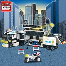 511Pcs <b>City Police SWAT Truck</b> Mode Building Blocks Sets Figures ...