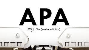 Normas Apa 2019 Sexta Edición Descargar Pdf Oye Juanjo