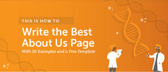 The Changing Times Newspaper Template How To Write The Best About Us Page 50 Examples And A Template