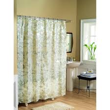 shower rods ideas curved rod uses greyshowercurtainwithcircularpatternforbathroom flexible ceiling mount curtain track grey with circular