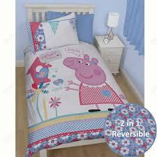 peppa pig toddler bed set
