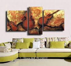 Online Get Cheap Wall Painting 3 Set Music Aliexpress With Regard To Wall  Art Sets For