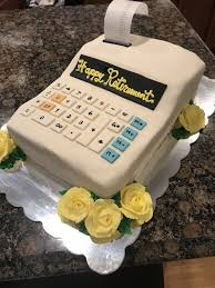 Cake Designer Education Requirements Retirement Cake For An Accountant Retirement Cakes Cake