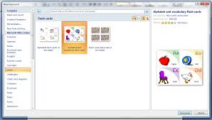 Flashcards Template For Word Flashcards In Word Rome Fontanacountryinn Com
