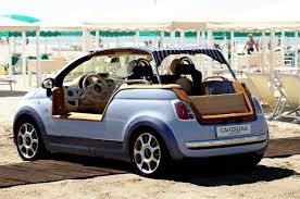 fiat 500 interior trunk. fiat500tendertwoevbycastagna fiat 500 tender by castagna interior trunk