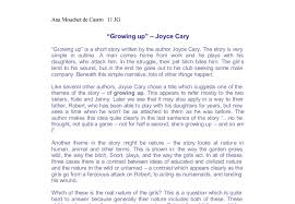 growing up joyce cary a level psychology marked by document image preview