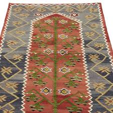 k0033623 red blue vintage esme kilim rug kilim com the source for authentic vintage rugs kilims overdyed oriental rugs hand woven turkish rugs