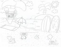 1024x780 skidoo sketch beach by brainstormer623 on deviantart