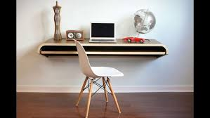 diy fold out desk wall mounted desktop computer floating wall desk