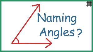 Angl Es How Do We Name Angles Youtube