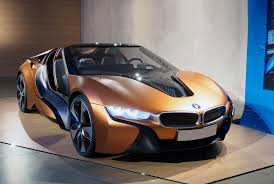 2018 bmw i8 pink red and black black and white