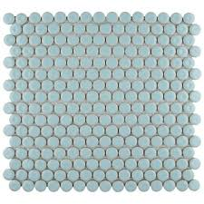 hudson penny round cashmere blue 12 in x 12 5 8 in