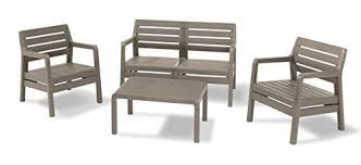 allibert by keter delano outdoor lounge garden furniture