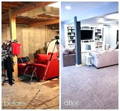 basement bedroom ideas before and after. Basement Remodeling Ideas Before And After Finished  Home Bedroom