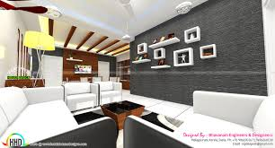 Modern Showcase Designs For Living Room Living Room Interior Decors Ideas Kerala Home Design And Floor Plans