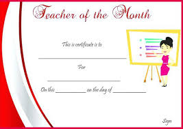 Best Teacher Certificate Templates Free Best Teacher Award Certificate Printable Certificates Teachers Free