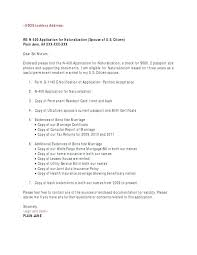 permanent resident application cover letter cover letter for adjustment of status application uscis cover letter