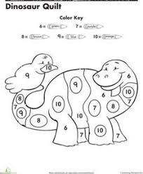 fefb944c464b504e170da384395e908b numbers preschool dinosaurs preschool color by number truck them, coloring and the kid on color by number spanish coloring page