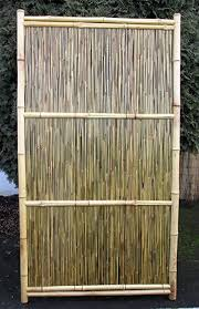 fence panels designs. Amazon Com Bamboo Fence Panel Horizontal Style Garden Outdoor Pertaining To Panels Designs 9