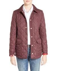 New Savings on Women's Burberry Westbridge Quilted Jacket, Size X ... & Women's Burberry Westbridge Quilted Jacket, Size X-Large - Red Adamdwight.com