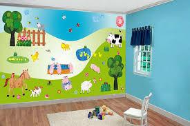 vibrant nursery decor stickers baby