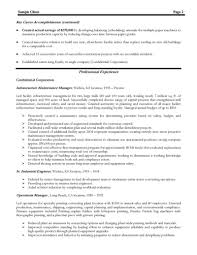 Manufacturing Manager Resume For Study Exa Sevte