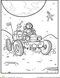 Solar system nomenclature cards from the helpful garden. Outer Space Coloring Pages Education Com