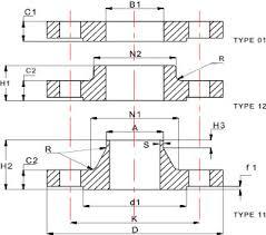Pn16 Flange Chart En 1092 Flanges Manufacturers En 1092 Dimensions Weight Chart