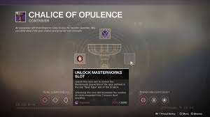 Destiny 2 Chalice Of Opulence Rune Crafting Guide Polygon