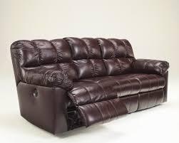 red leather reclining sofa. Kennard Contemporary Red Leather Reclining Sofa