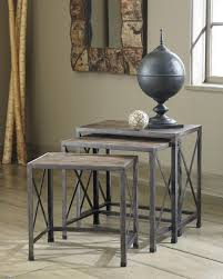nesting end tables. Rustic Accents - Nesting End Tables (Set Of 3)