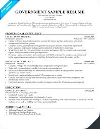 Fbi Special Agent Resume Nice Federal Resume Example Federal Resume