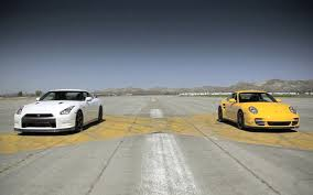 Feature Flick: Watch a Nissan GT-R Drag Race a Porsche 911 Turbo S